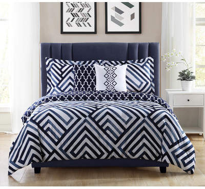 Wayfair Hawks 5 Piece Reversible Comforter Set