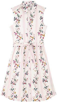 Cath Kidston Birds Stripe Shirt Dress