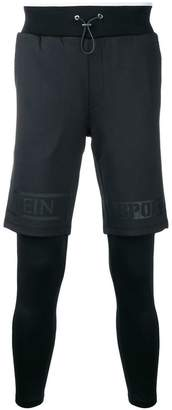 Plein Sport shorts covered compression tights