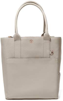 Dagne Dover Charlie Leather Tote