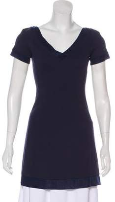 Giorgio Armani Short Sleeve V-Neck Tunic