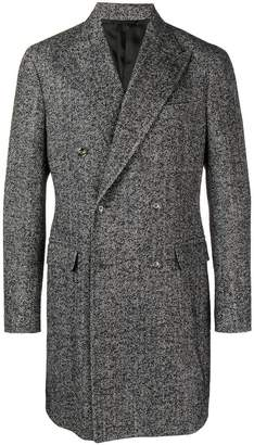 Barba formal knit coat