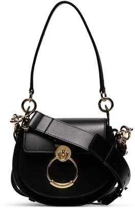 Chloé Black Tess Small Leather Shoulder Bag