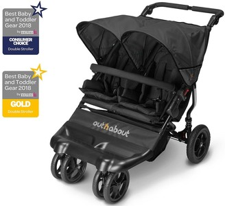 Baby Essentials Out N About Out n About Little Nipper Double Stroller
