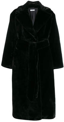 P.A.R.O.S.H. Faux Fur Robe Coat