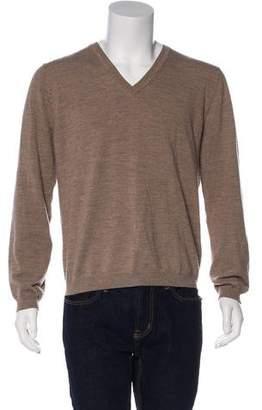 Just Cavalli Wool V-Neck Sweater