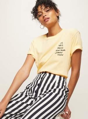 Miss Selfridge 'love Paris New York Tokyo' T-Shirt