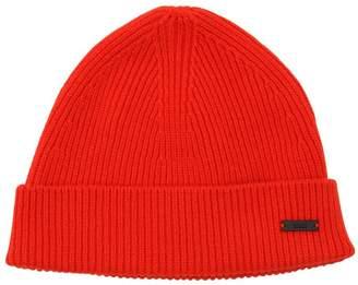 Ami Alexandre Mattiussi Wool Knit Beanie Hat
