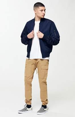 PacSun Workwear Khaki Slim Fit Cargo Pants