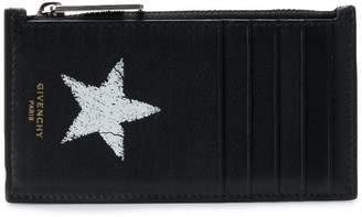 Givenchy star print card holder
