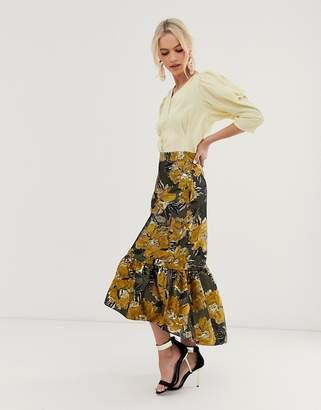 Closet London Closet high low skirt