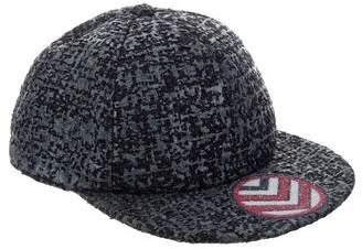 Chanel 2016 Embellished Tweed Cap