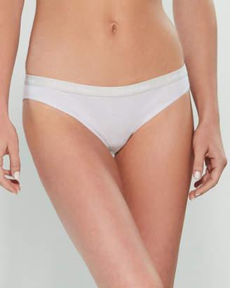 5ff87d5ef68 Calvin Klein Logo Bikini Panty