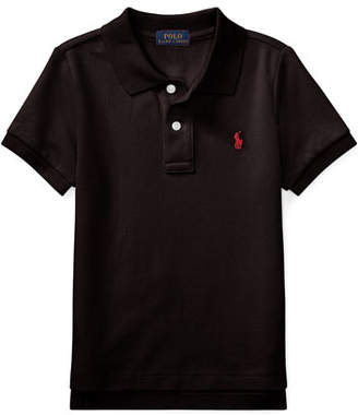 Ralph Lauren Childrenswear Short-Sleeve Logo Embroidery Polo Shirt, Size 4-7