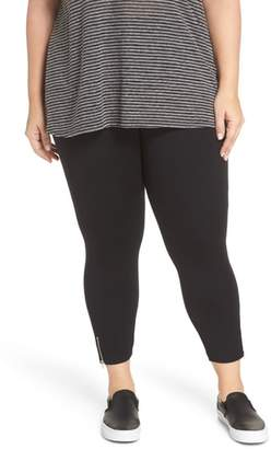 Lysse Mini Zip Crop Leggings