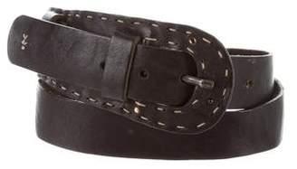 Henry Beguelin Leather Embellished Belt