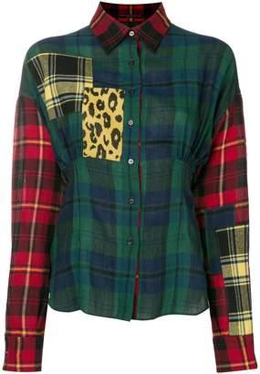 Ermanno Scervino tartan patterned shirt