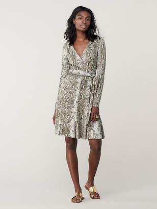 Diane von Furstenberg Elowen Silk Jersey Wrap Dress