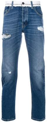 Frankie Morello distressed style jeans
