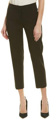 Carolina Herrera Wool-Blend Silk-Lined Pant