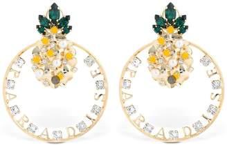 Anton Heunis Pineapple Paradise Earrings
