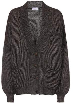 Brunello Cucinelli Oversized ribbed cardigan