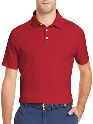 Izod Interlock Easy Care Short Sleeve Polo Shirt