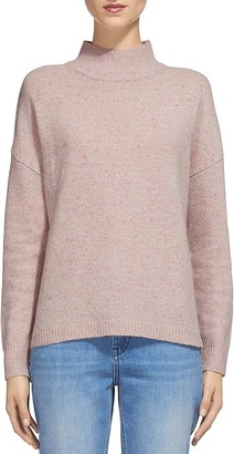 Whistles Donegal Funnel Neck Sweater $180 thestylecure.com