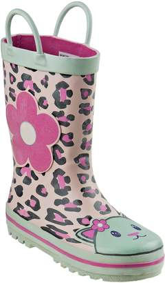 Laura Ashley Leopard Print Rain Boot