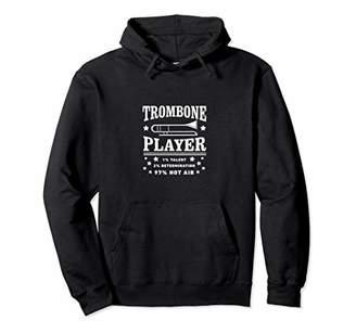 Trombone 1% 2% Determination 97 Hot Air Marching Band Hoodie