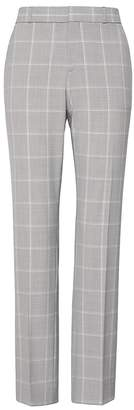 Banana Republic Petite Ryan Slim Straight-Fit Machine-Washable Italian Wool Blend Pant
