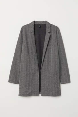 H&M H&M+ Long Jacket - Black