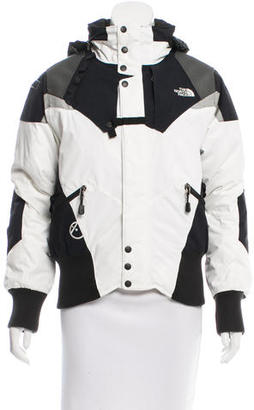 The North Face Long Sleeve Down Coat $95 thestylecure.com