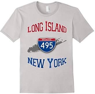 Long Island New York Interstate 495 T-Shirt