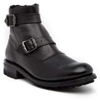 Frye Stanton Leather Moto Boot