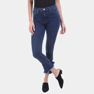 Iro . Jeans Iro Jeans Berry Flared Hem High-Rise Jean in Deep Wash