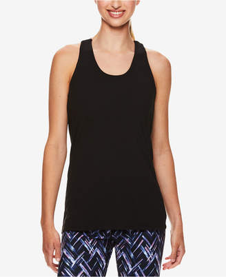 Gaiam Reagan Colorblocked Strappy-Back Bra Tank Top