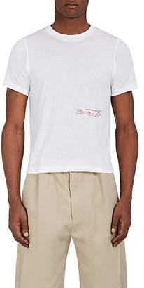 Martine Rose Men's Logo-Print Cotton T-Shirt