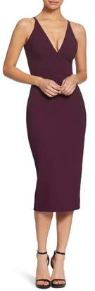 Dress the Population Lyla Crepe Sheath Dress