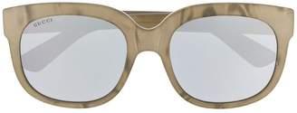 Gucci classic mass-shape sunglasses
