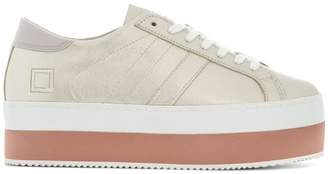 D.A.T.E platform low top sneakers