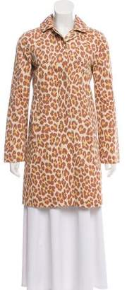 Marc Jacobs Printed Collared Jacket