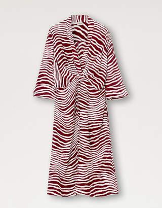 By Malene Birger KEELIA DRESS CABERNET - 6 | silk | red berry | viscose - Red berry