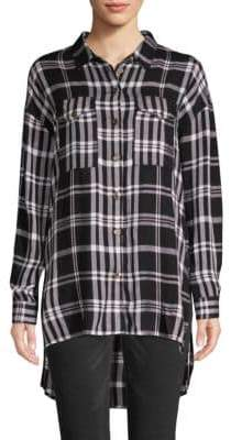 Jak & Rae Plaid Long-Sleeve Button-Down Shirt