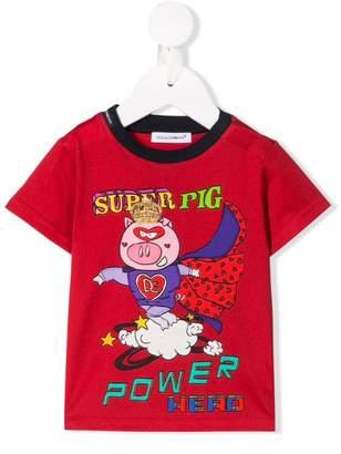Dolce & Gabbana Super Pig print T-shirt