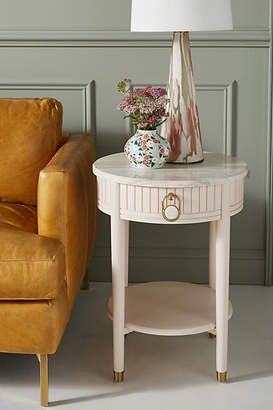 Anthropologie Marcelle Storage Side Table