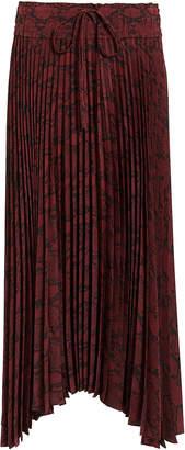 A.L.C. Maya Snake Print Skirt