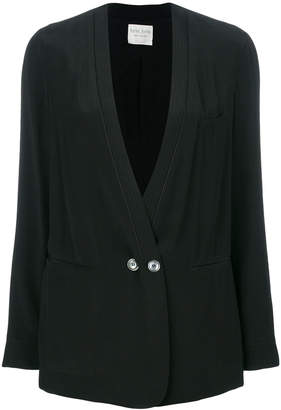Forte Forte V-neck button blazer