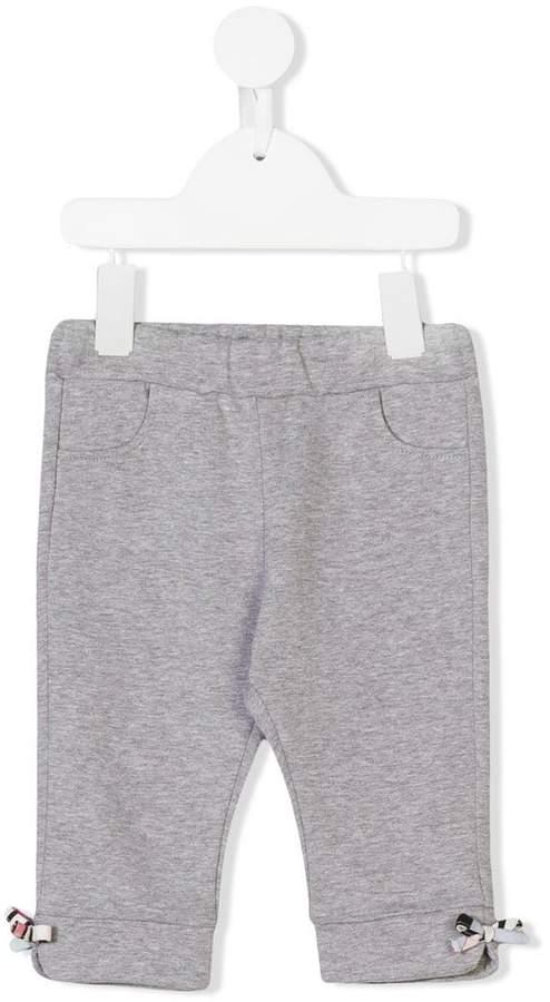 Emilio Pucci Junior elasticated waist track pants