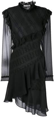 Philosophy di Lorenzo Serafini frill trim wrap dress